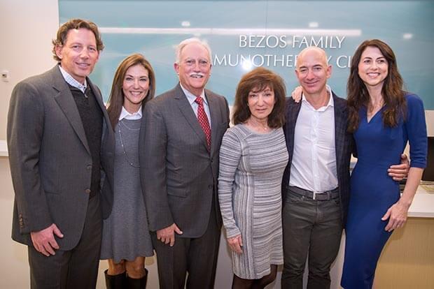 Jeff Bezos' Family