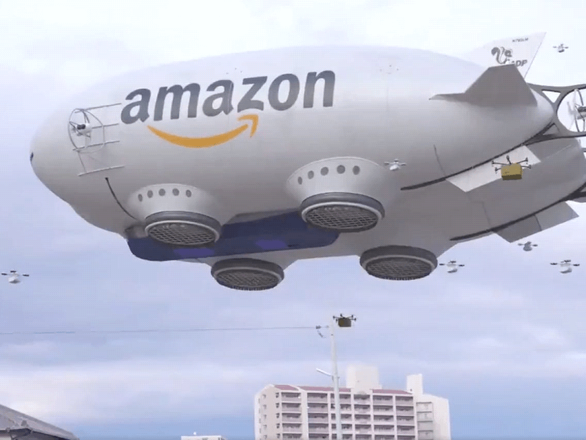 Prime Air conveyance