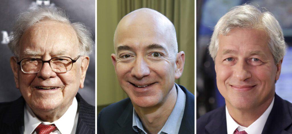 Jeff Bezos friends