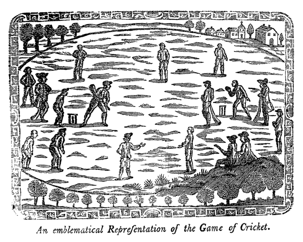 1744 Law Of Cricket